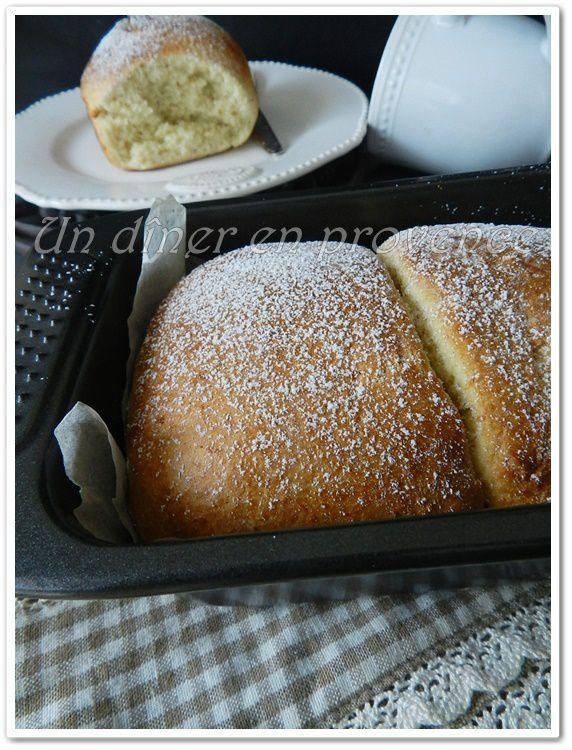 Brioche express à la vanille &amp&#x3B; noix de coco