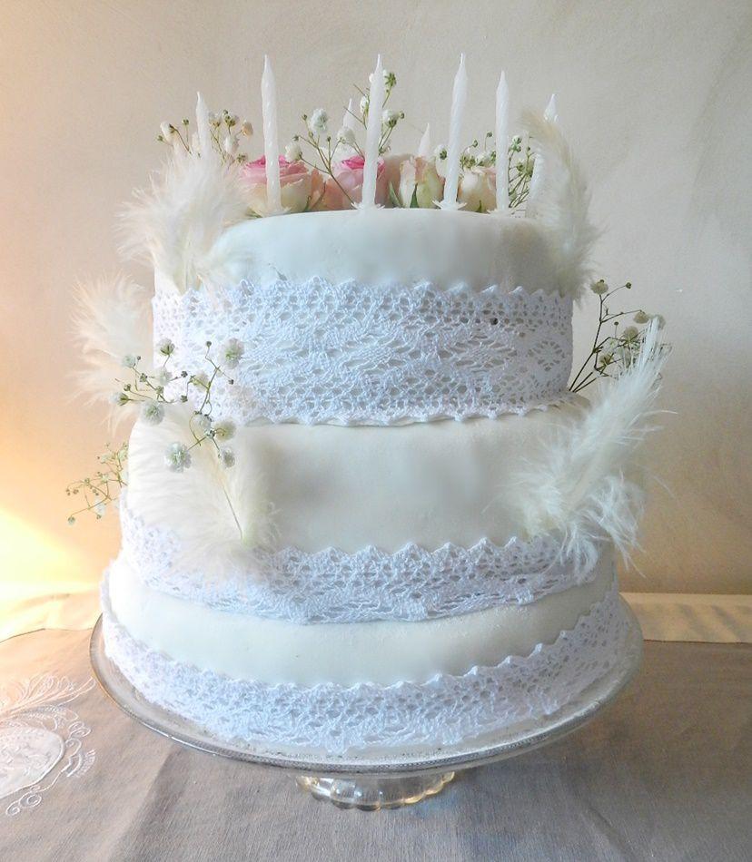 Wedding-cake au chocolat... pour les 18 ans de ma fille