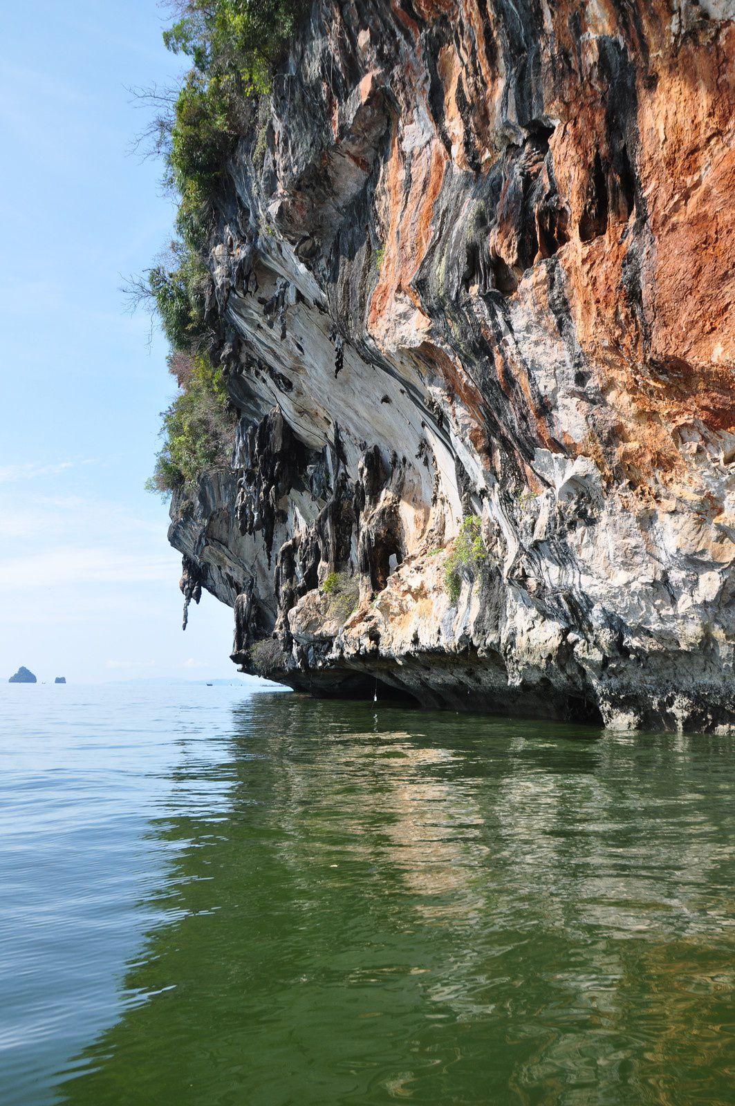 La baie d'Ao Phang Nga