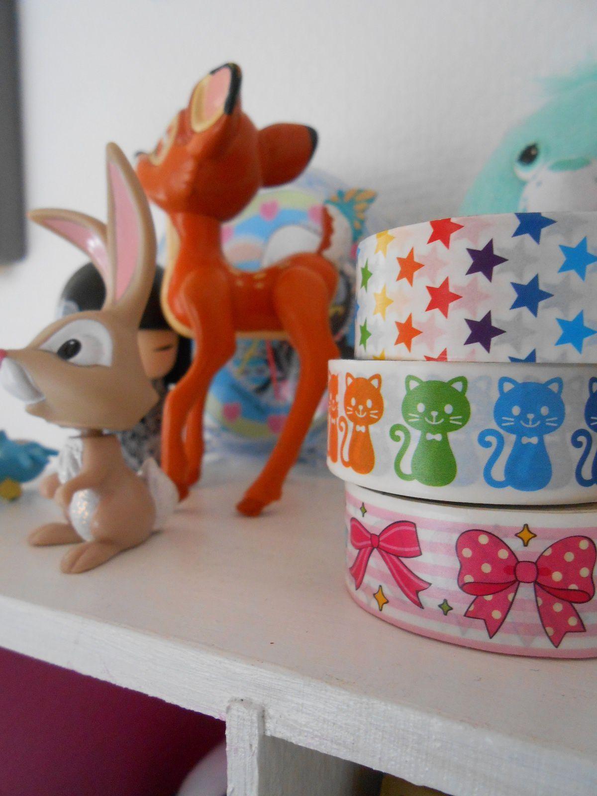 My birthday#1 mes cadeaux tout roses tout pailletés^^