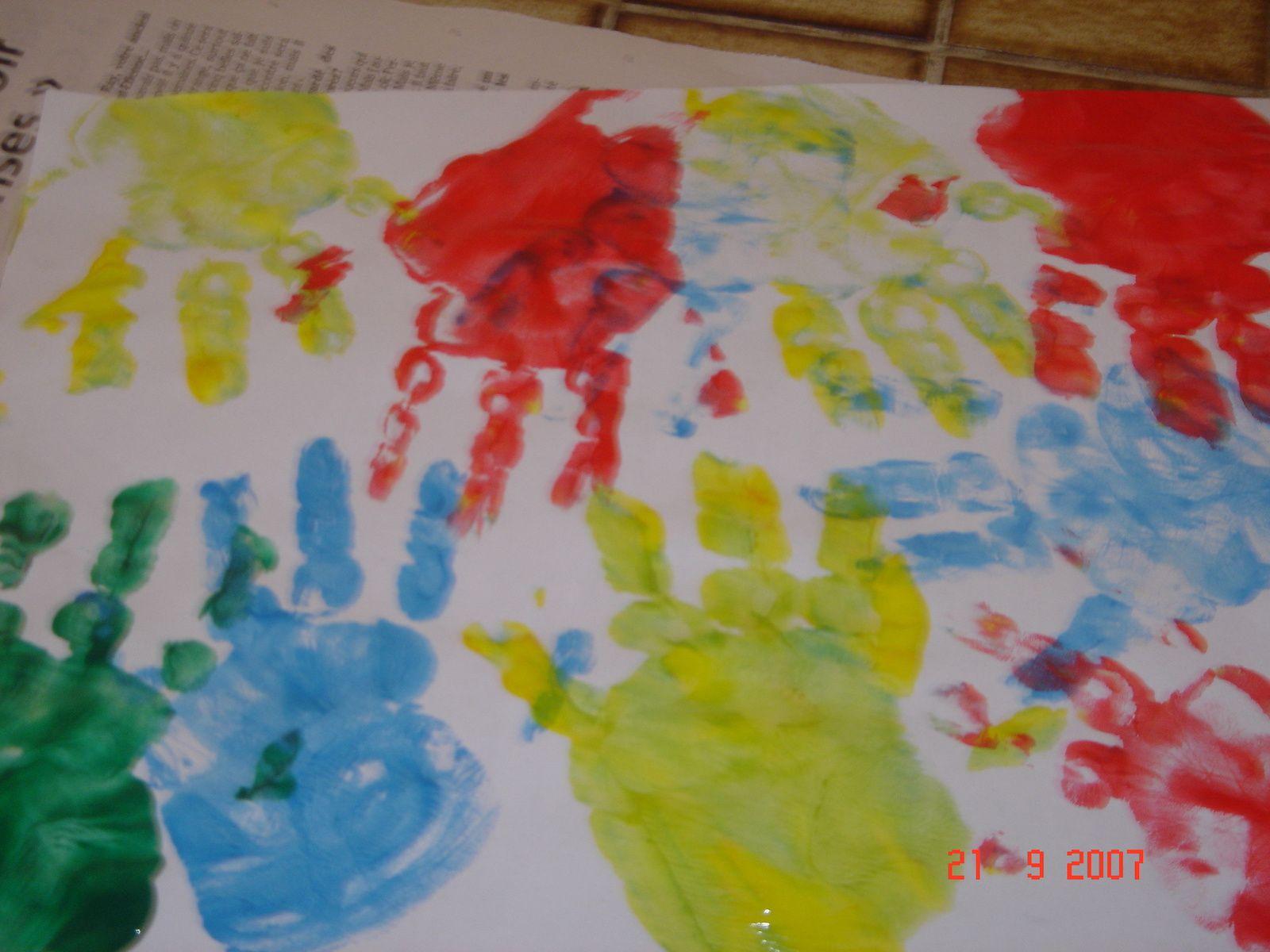 Rappel d'activité avec les doigts
