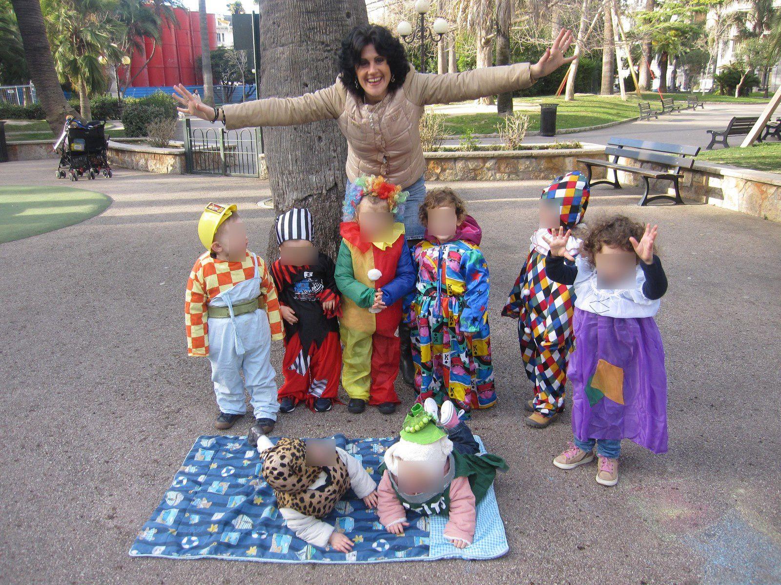 Nos petits bouts fêtent carnaval......