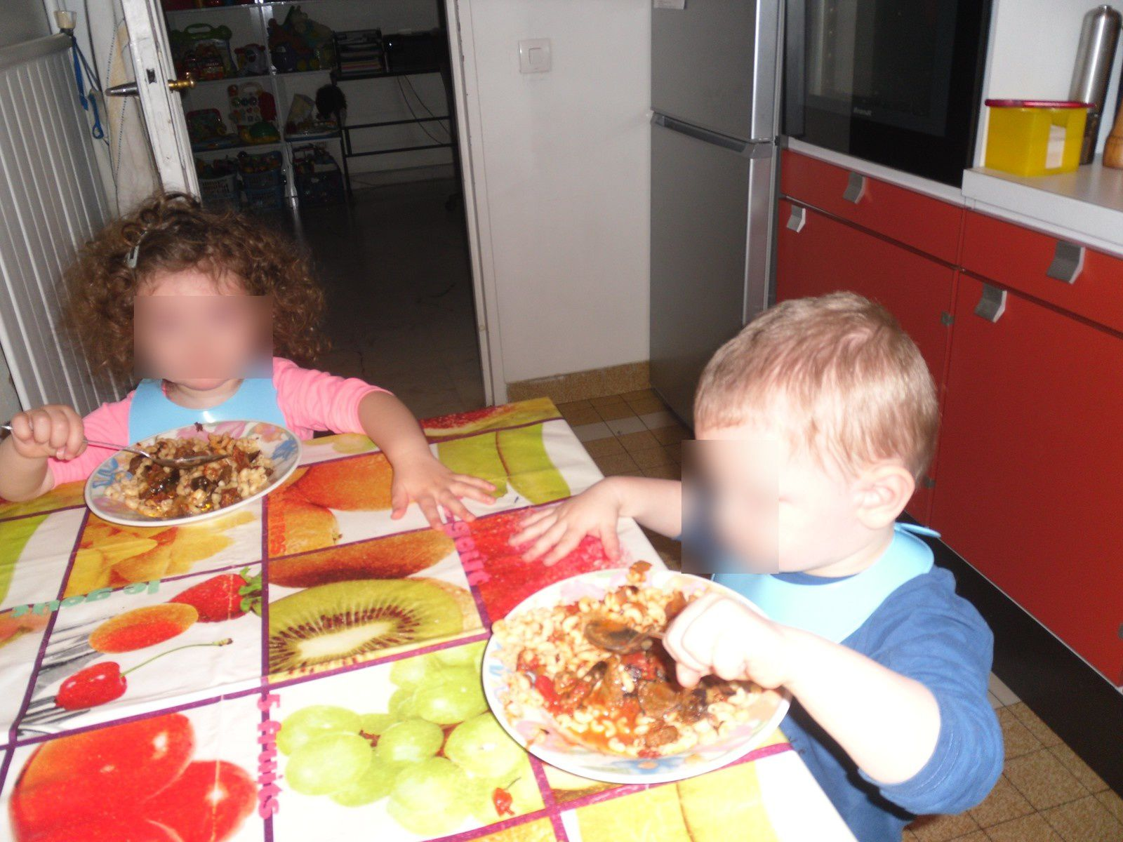 Le repas chez les tatas