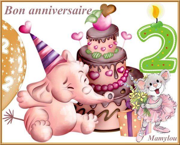 Joyeux anniversaire ELEAH 2 ans