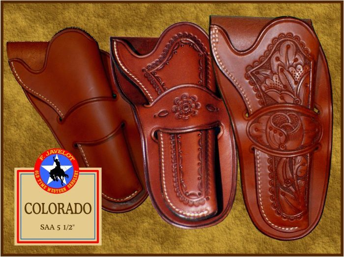 Holsters COLORADO de type Mexican Loops pour revolvers