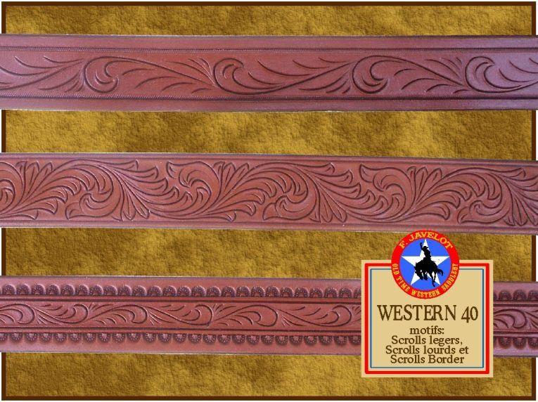 Mon Style et les différentes FINITIONS de mes articles en cuir WESTERN.
