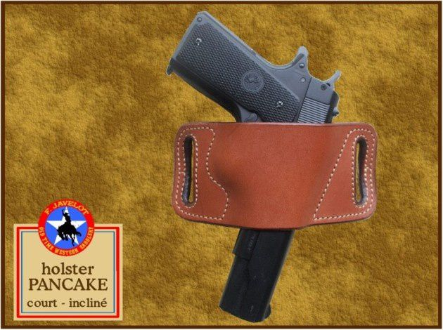 HOLSTERS PANCAKE POUR COLT 1911 GOVERNMENT.