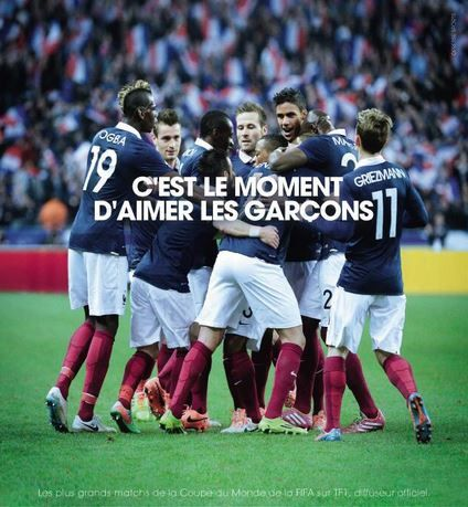 une publicit gay friendly pour la coupe du monde 2014 sur tf1 c 39 est le moment d 39 aimer les. Black Bedroom Furniture Sets. Home Design Ideas