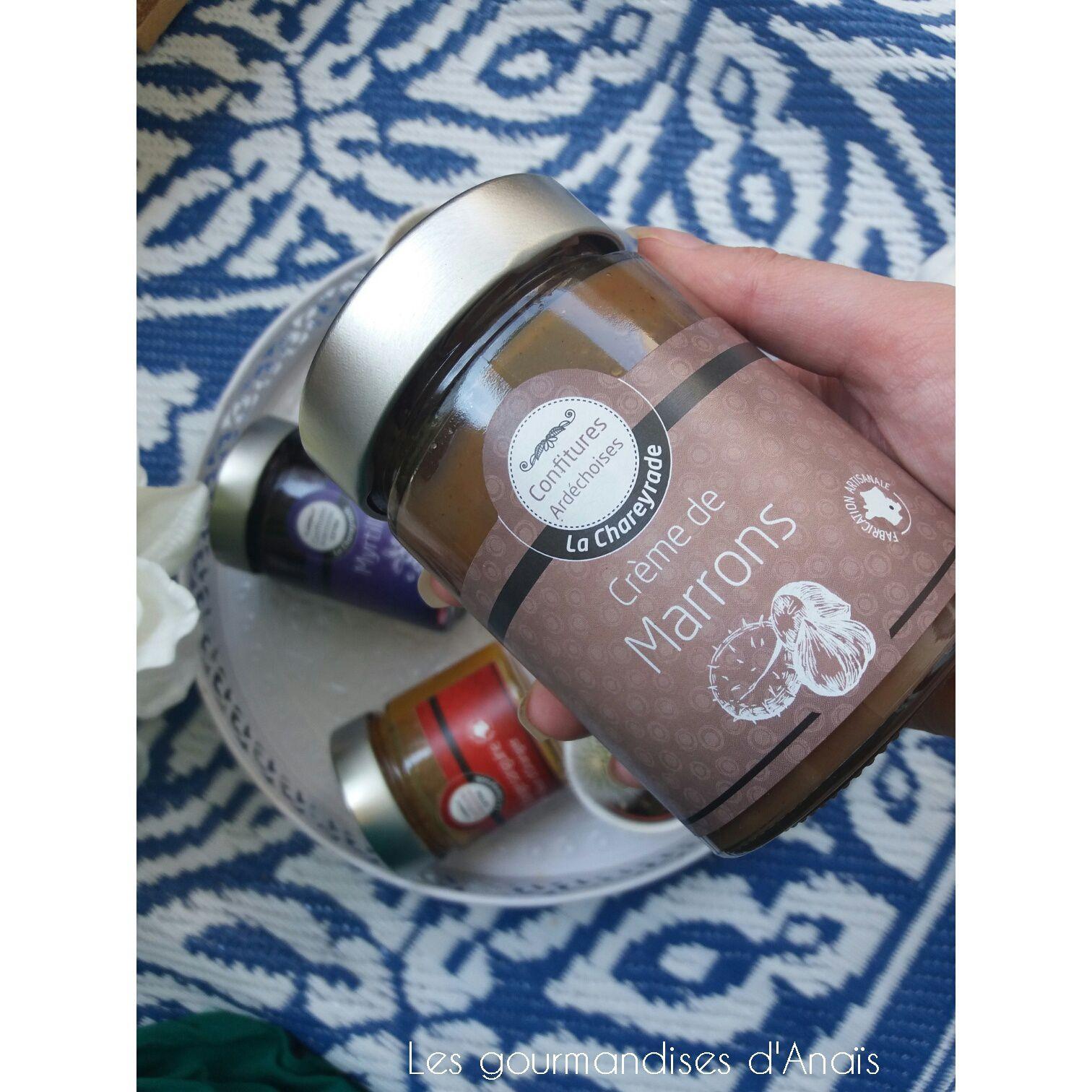 - Crème de marrons (400 gr)