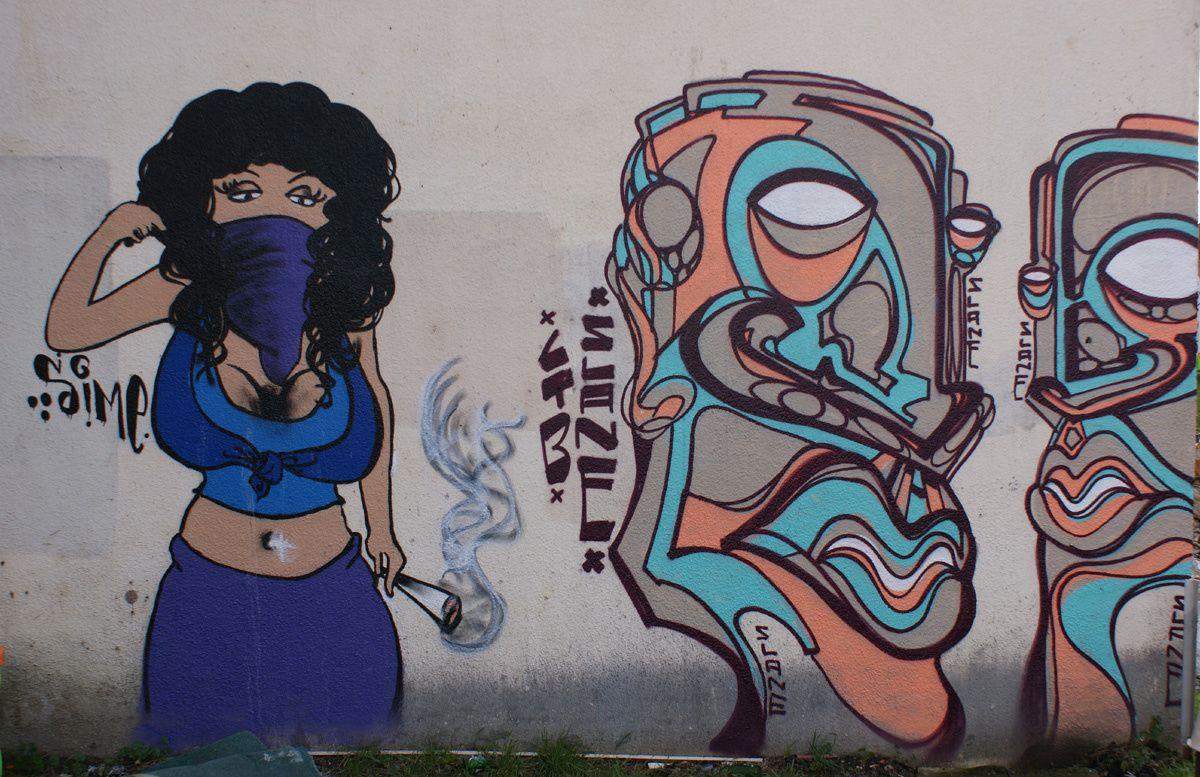 Street Art : Graffitis & Fresques Murales 92025 Colombes