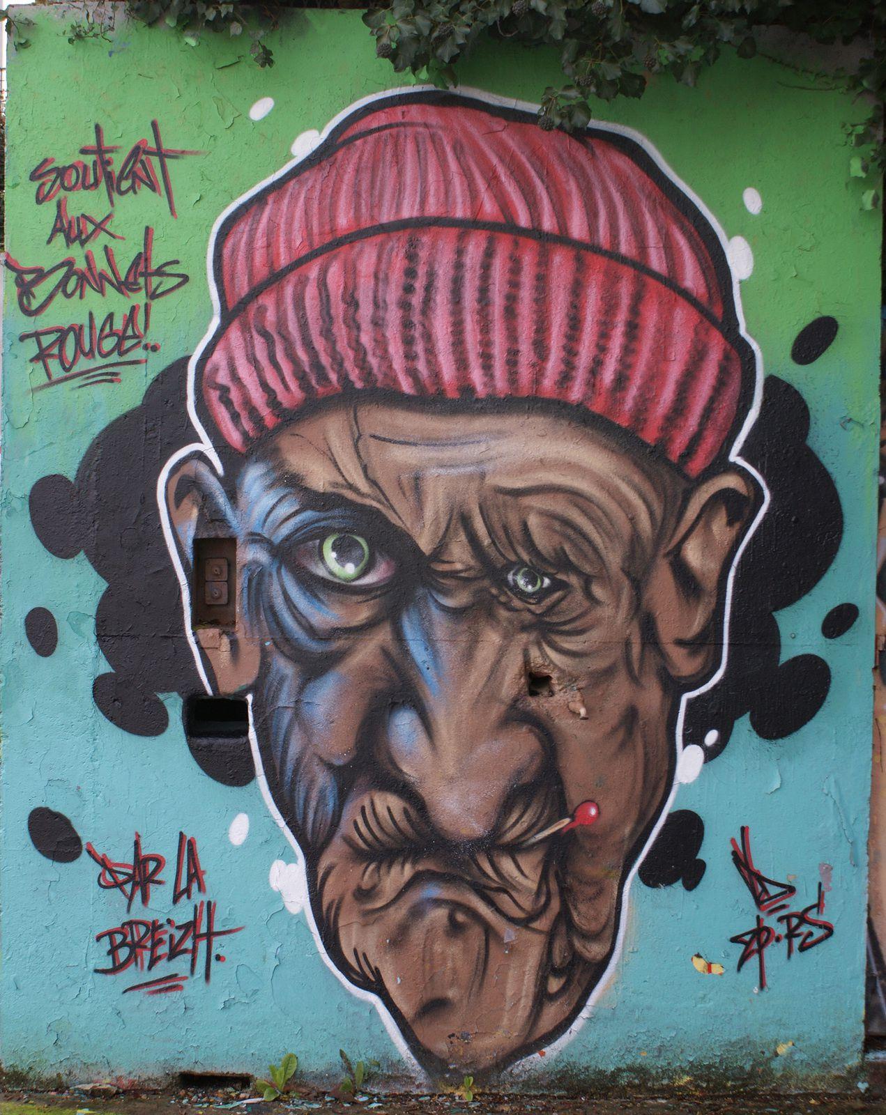 Street Art : Graffitis & Fresques Murales 49000 Angers