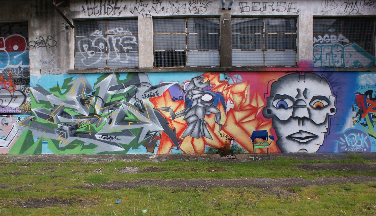 Album - Graffitis Dept 37 Tom 001