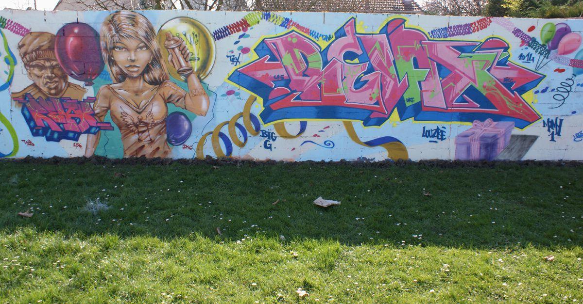 Street Art : Graffitis & Fresques Murales 93071 Sevran