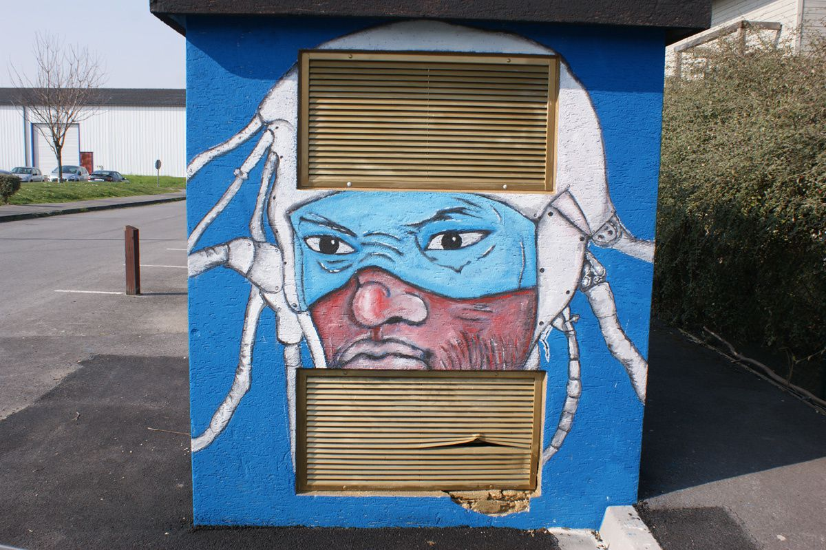 Album - Graffitis Dept 51 Tom 003