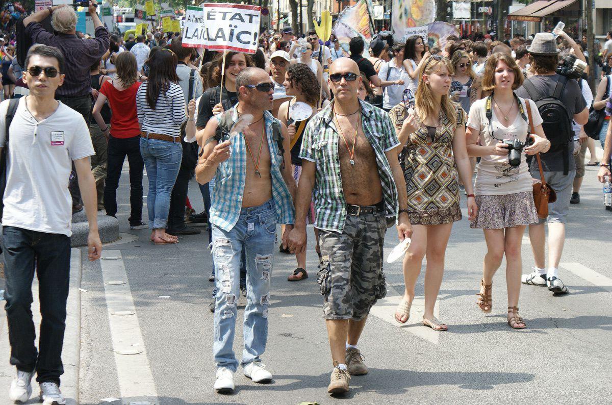 Marche des Fiertés : Gay Pride Paris 26 juin 2010