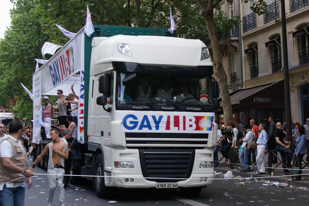 Gay Pride 2012 Marche des Fiertés