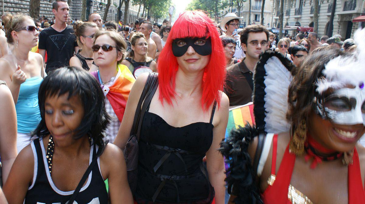 Gay Pride  2010 Marche des Fiertés