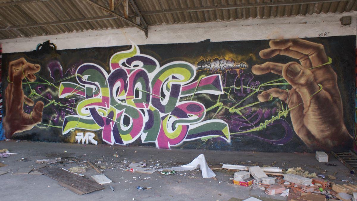 Street Art : Graffitis & Fresques Murales 91657 Vigneux