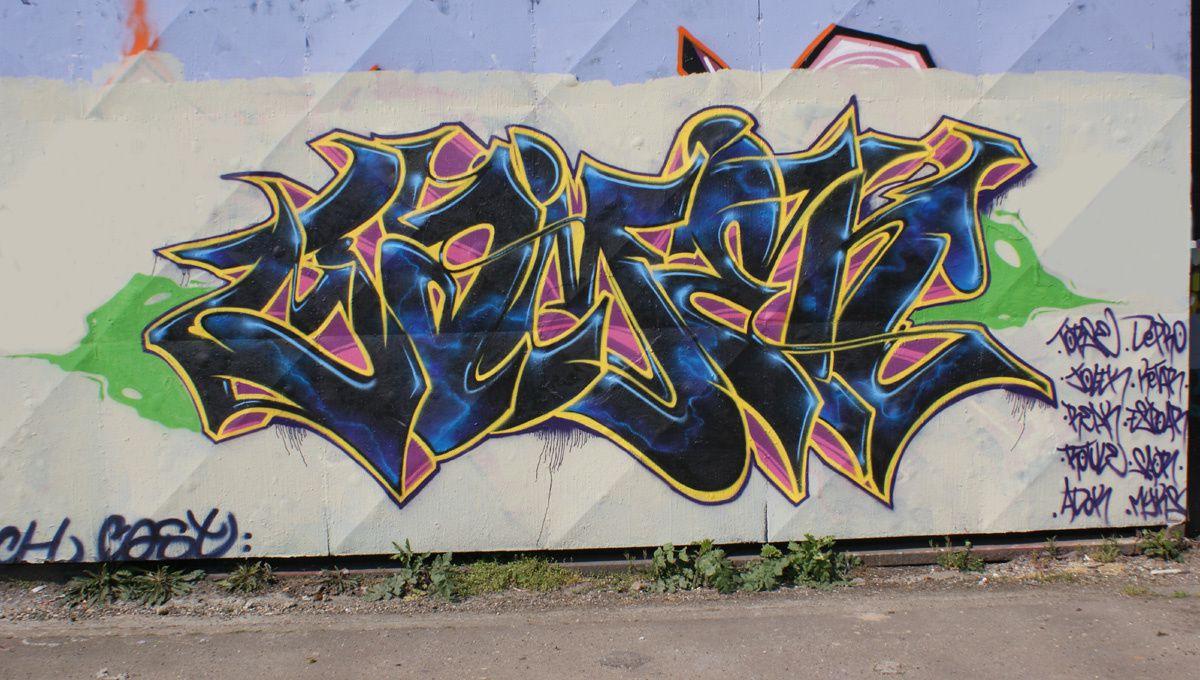 Street Art : Graffitis & Fresques Murales 76540 Rouen
