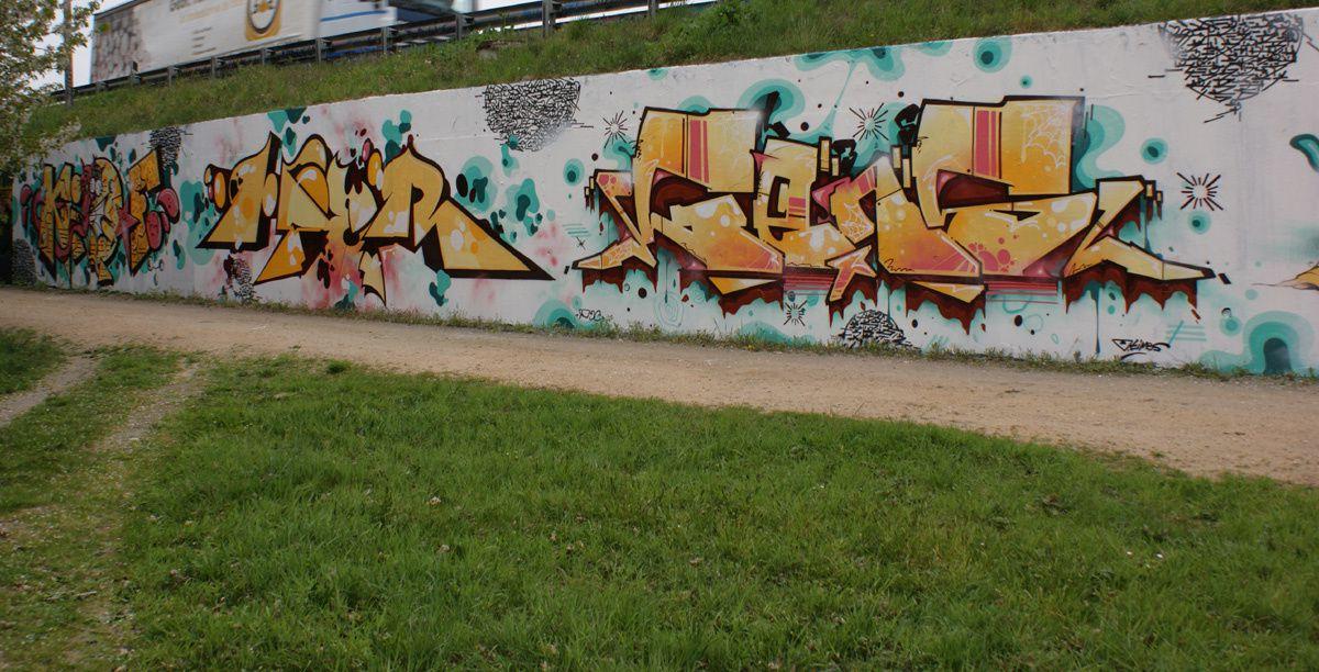 Street Art : Graffitis & Fresques Murales 45302 Saran