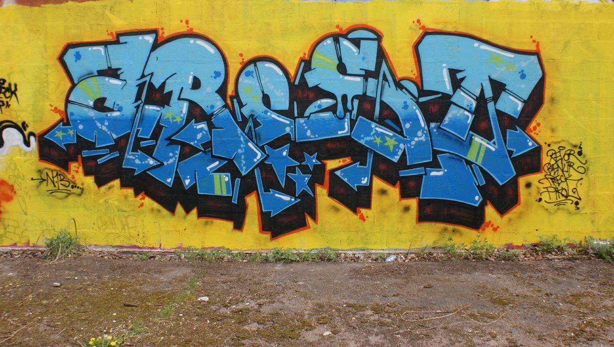 Street Art : Graffitis &amp&#x3B; Fresques Murales Département Les Yvelines (78)