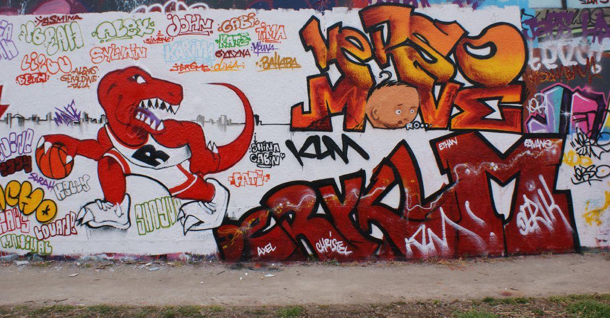 Album - Graffitis IVRY sur Seine Tom 021