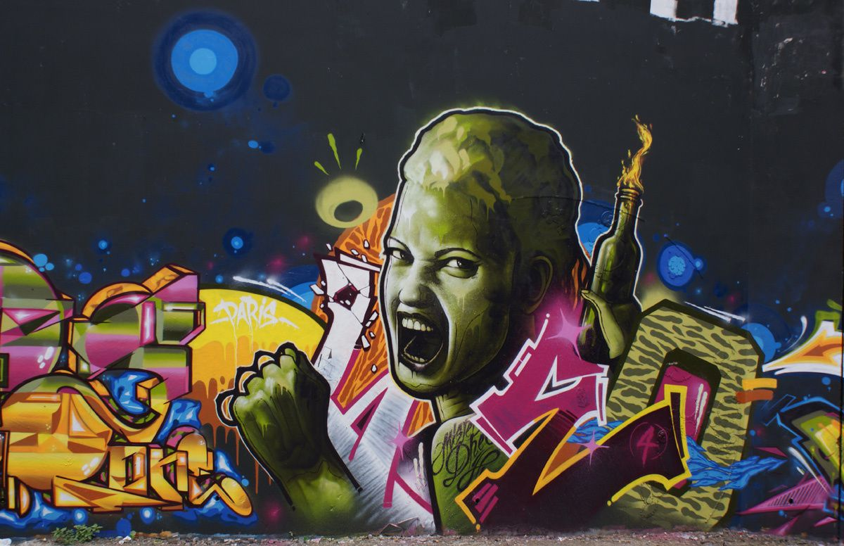 Album - Graffitis Paris Tom 033
