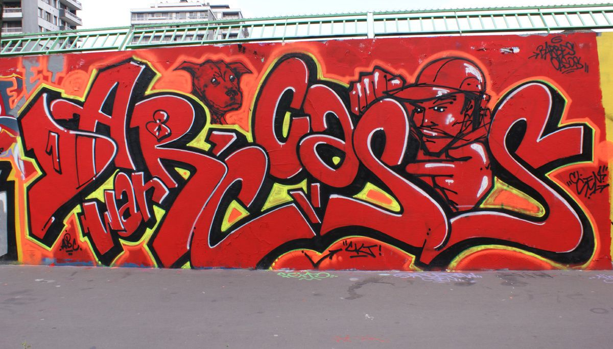 Album - Graffitis Paris Tom 033
