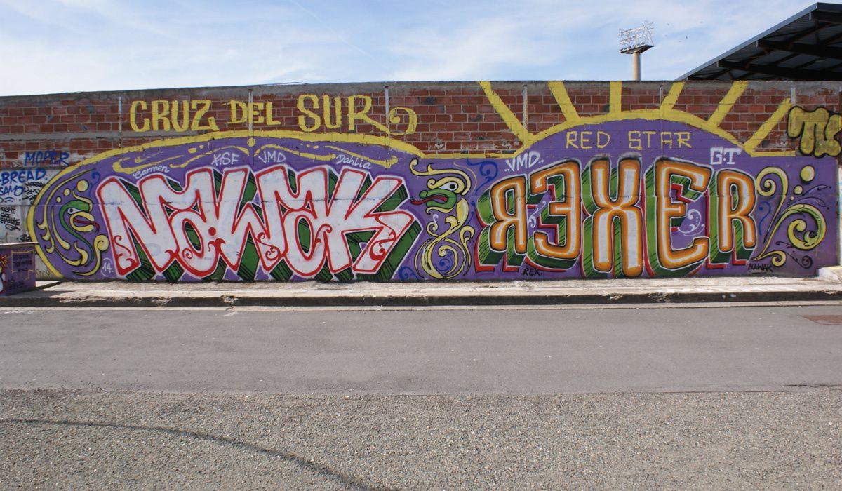 Street Art : Graffitis & Fresques Murales 93070 Saint Ouen