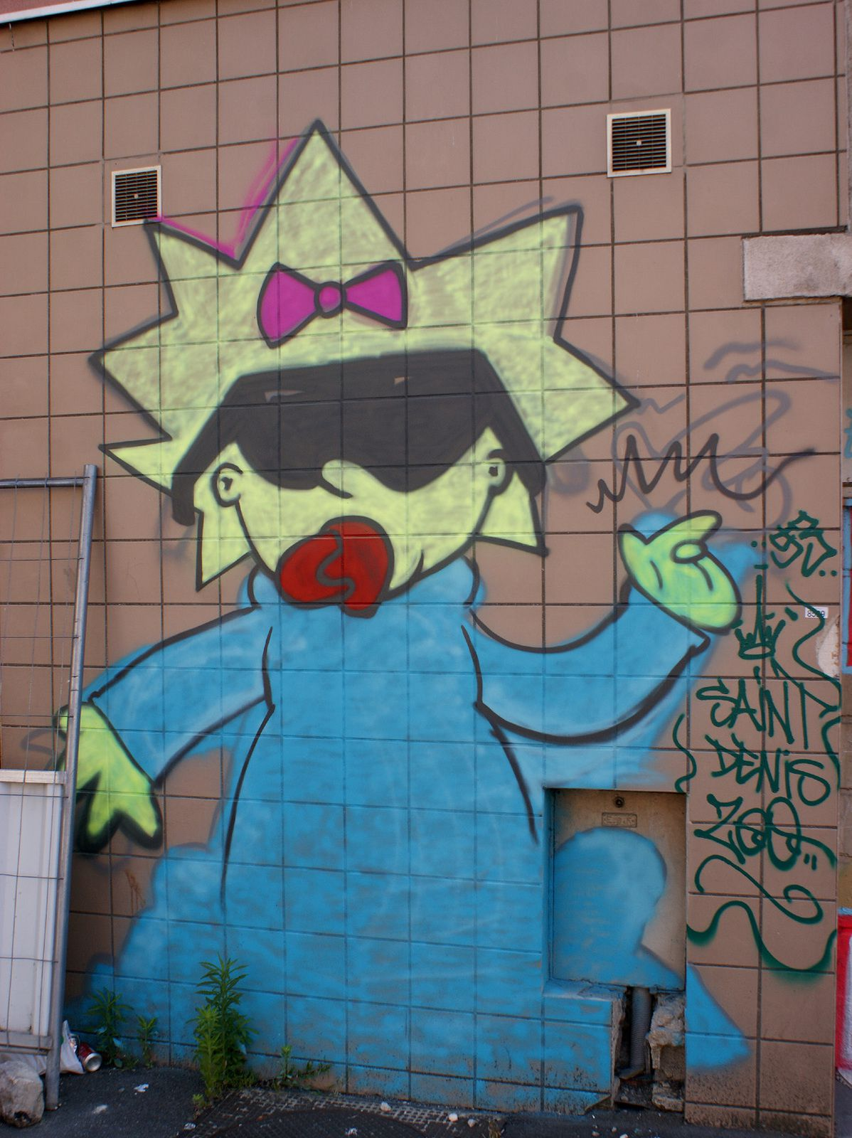 Street Art : Graffitis &amp&#x3B; Fresques Murales 93066 Saint Denis