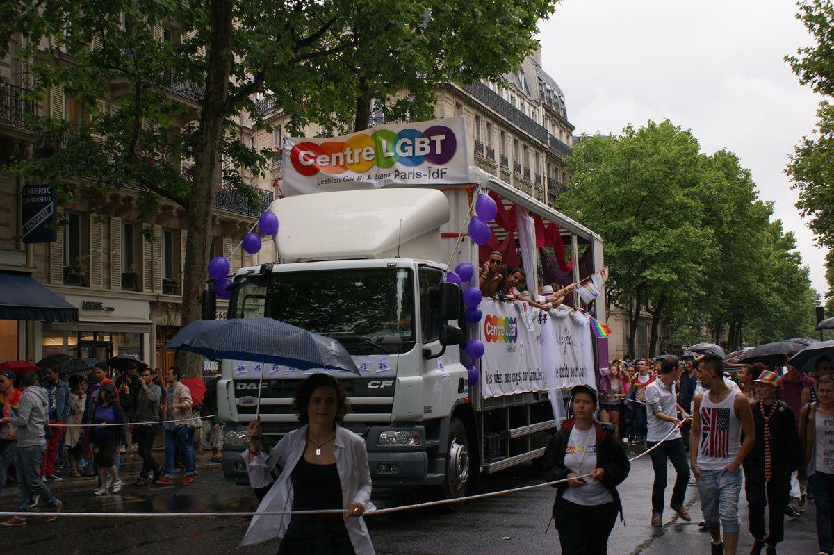 Marche des Fiertés Paris 2014