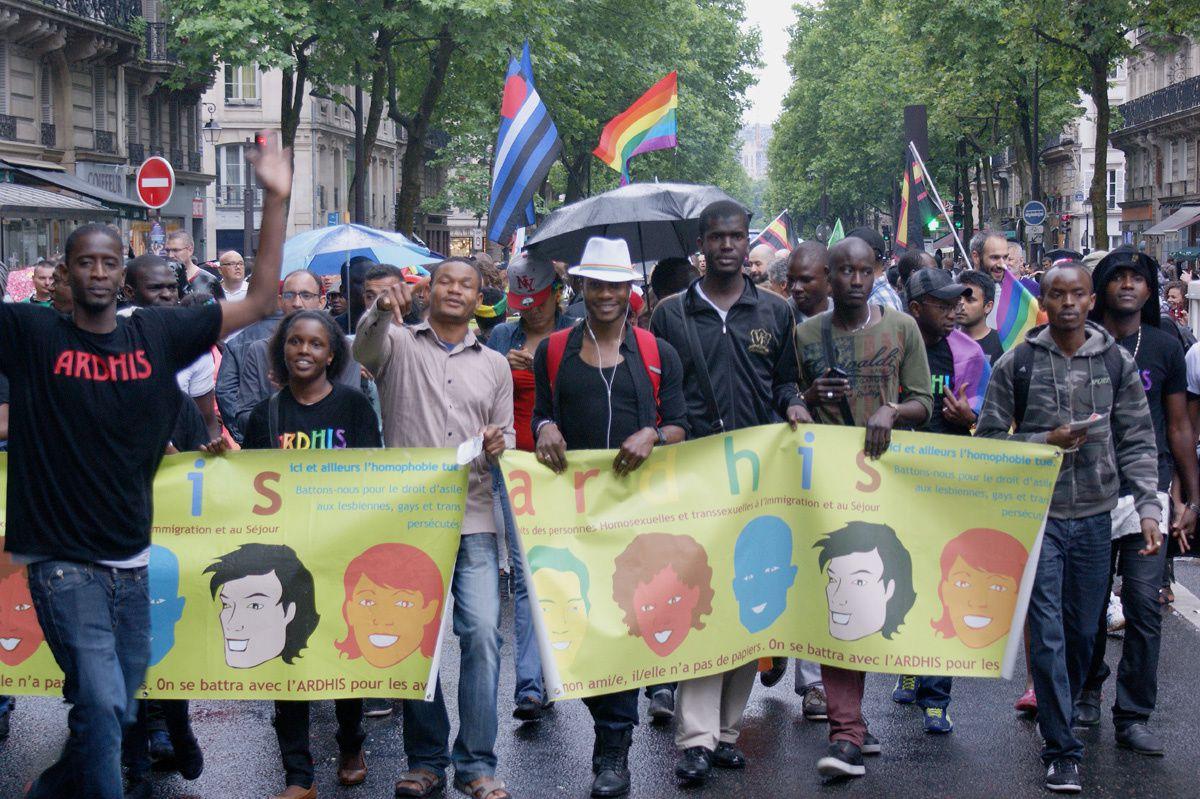 Gay Pride Marche des Fiertés 2014