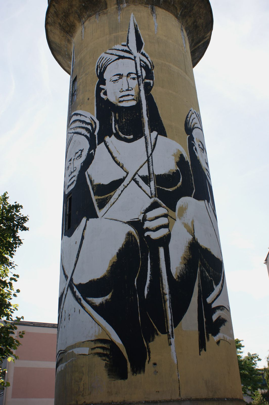 Street Art : Graffitis & Fresques Murales 93005 Aulnay sous bois