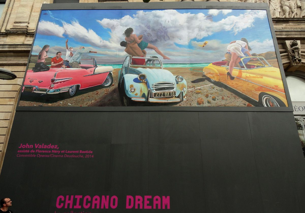 Expo Bordeaux : Chicano Dream &quot&#x3B; That's the Chicano Way &quot&#x3B;
