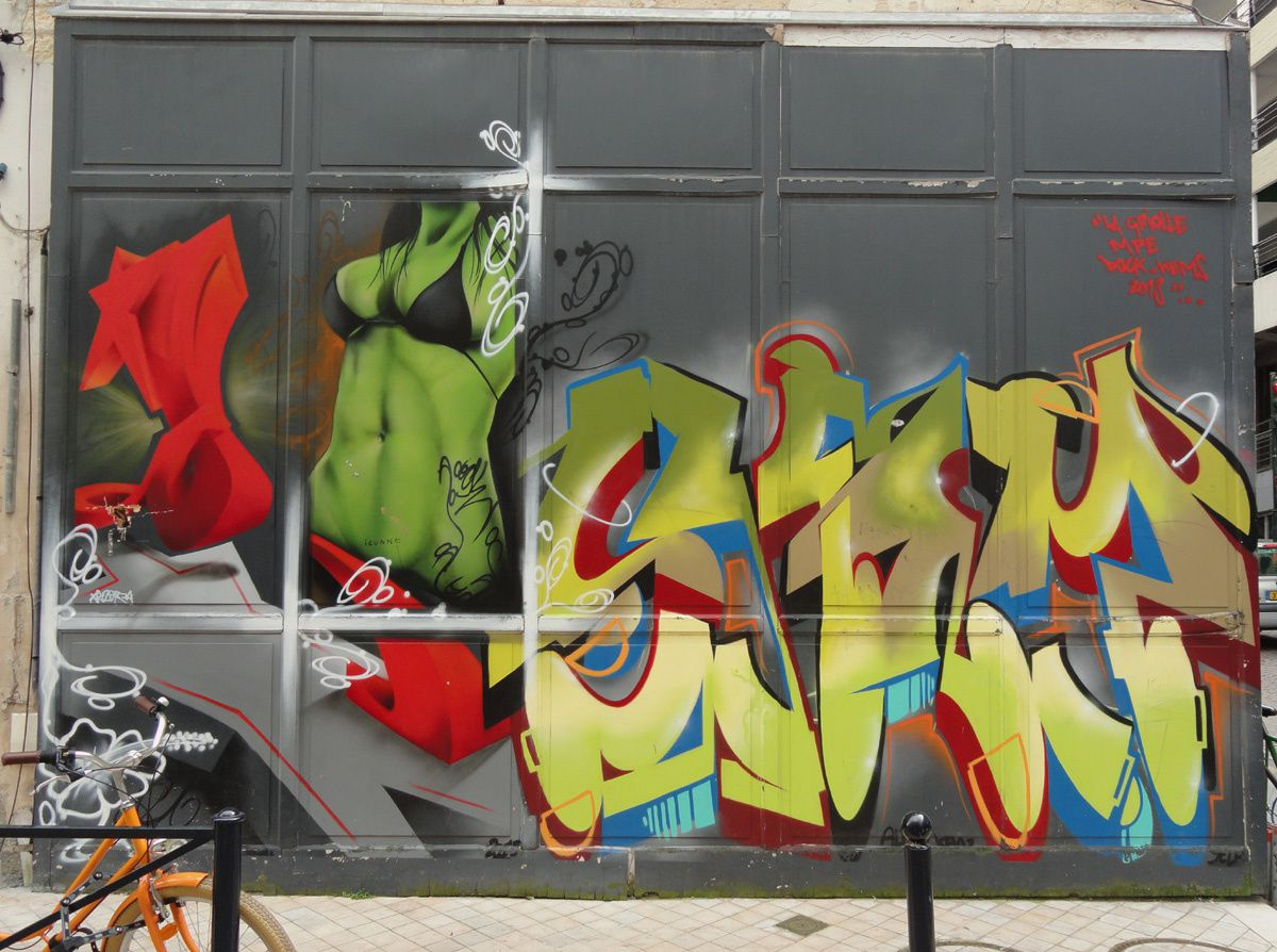 Album - Graffitis Bordeaux Tom 006