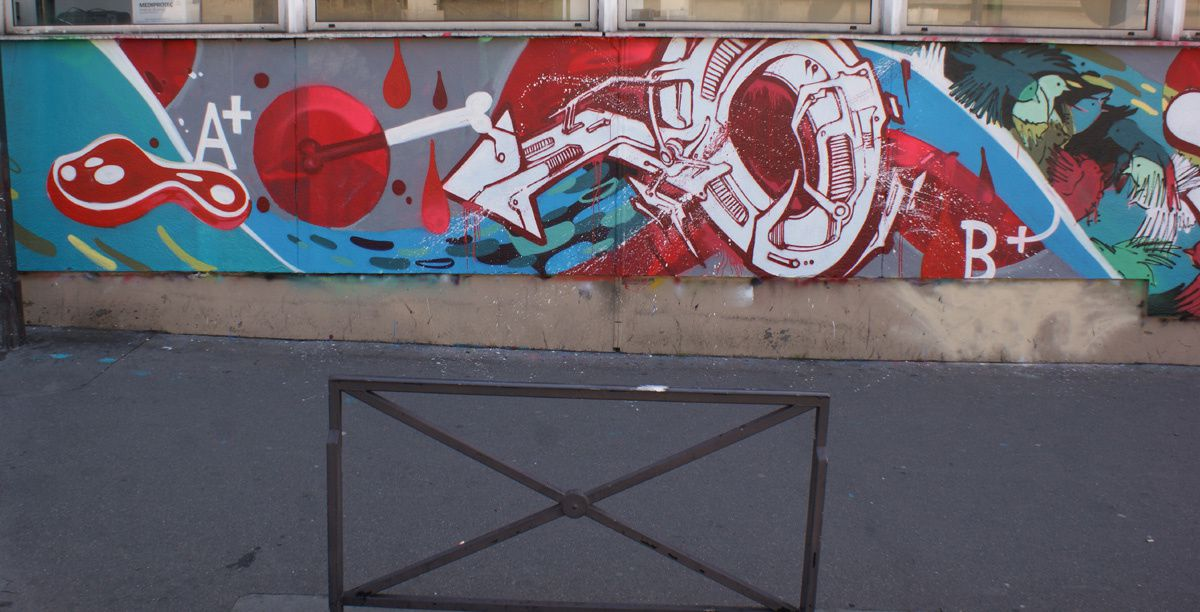 Album - Graffitis Paris Tom 034