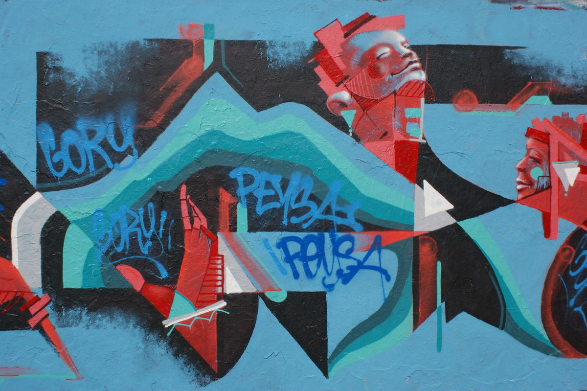 Street Art : Graffitis &amp&#x3B; Fresques Murales 75010 Paris