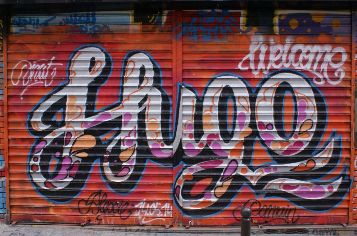 Album - Graffitis Paris Tom 035