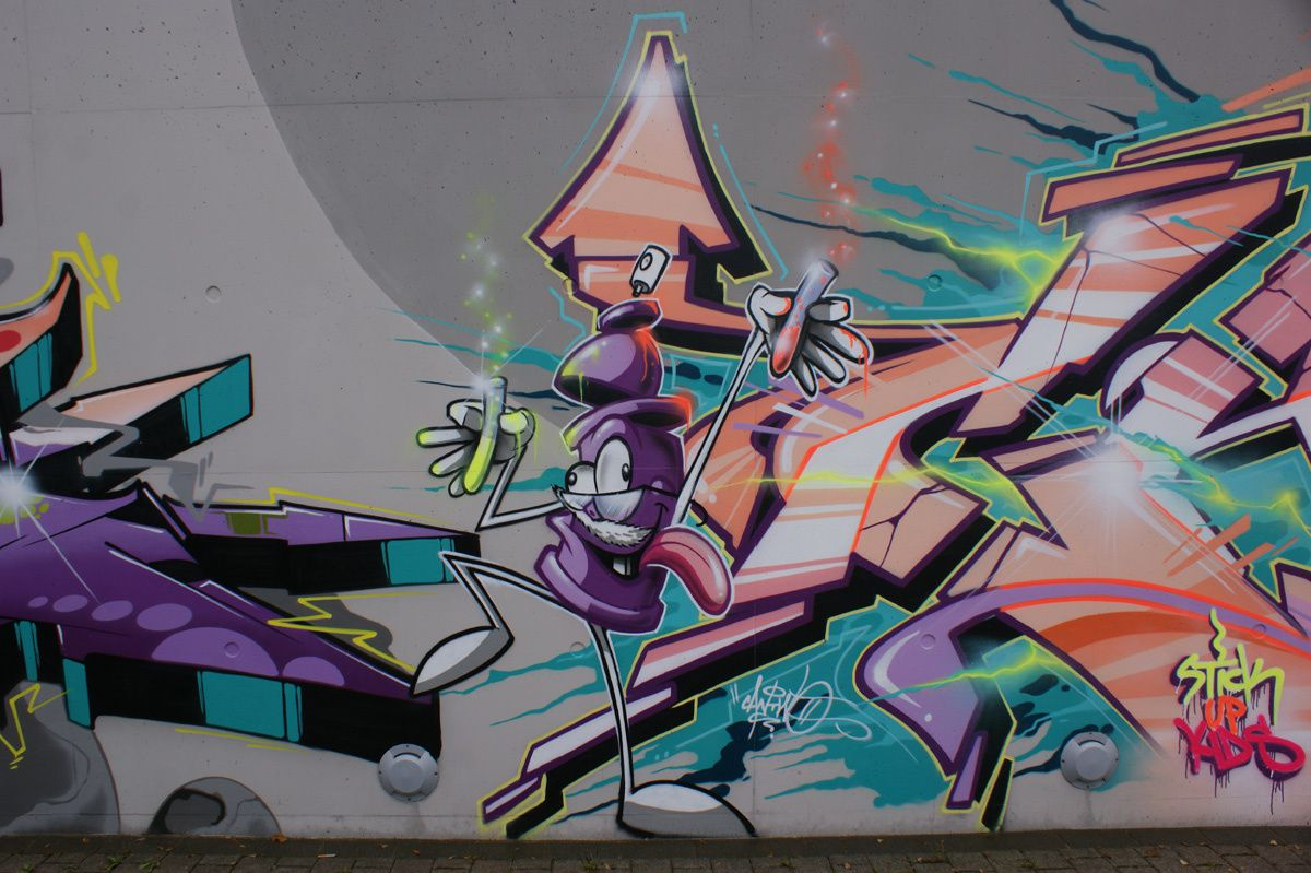 Album - Graffitis Luxembourg Tom 001