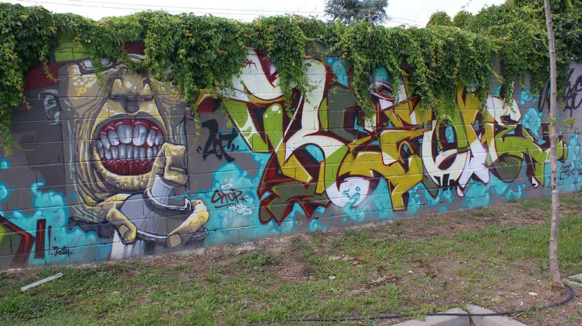 Album - Graffitis Toulouse Tom 006