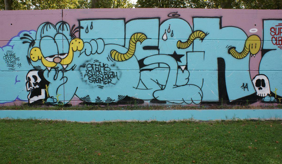 Street Art : Graffitis &amp&#x3B; Fresques Murales 31446 Ramonville