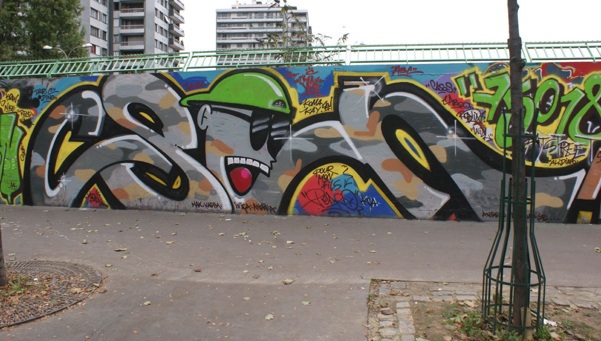 Album - Graffitis Paris Tom 037