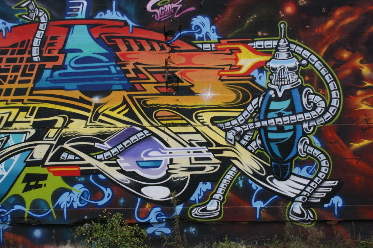 Street Art : Graffitis & Fresques Murales 33000 Bordeaux