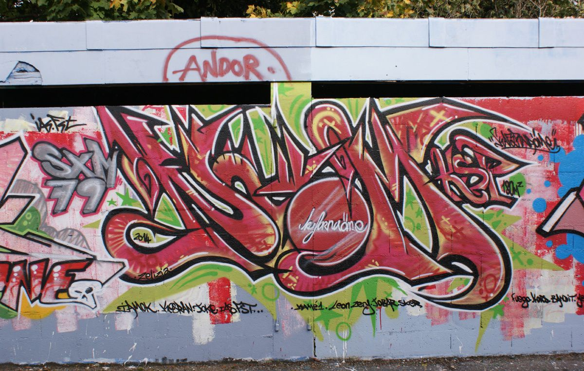 Album - Graffitis Dept 79 Tom 002