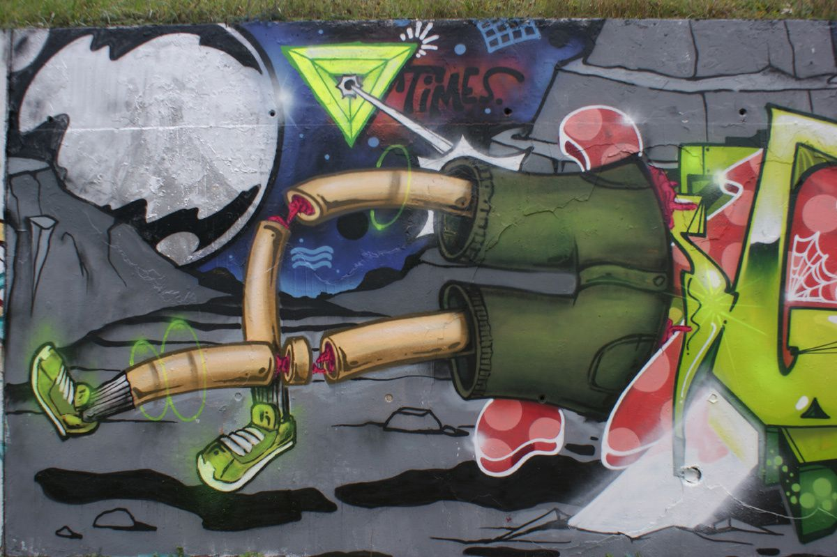 Street Art : Graffitis &amp&#x3B; Fresques Murales 45302 Saran