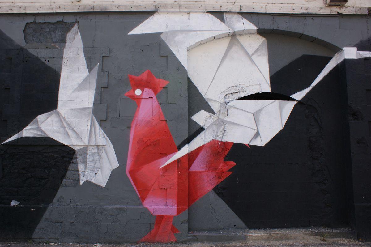 Album - Graffitis Caserne Niel Bordeaux Tom 006