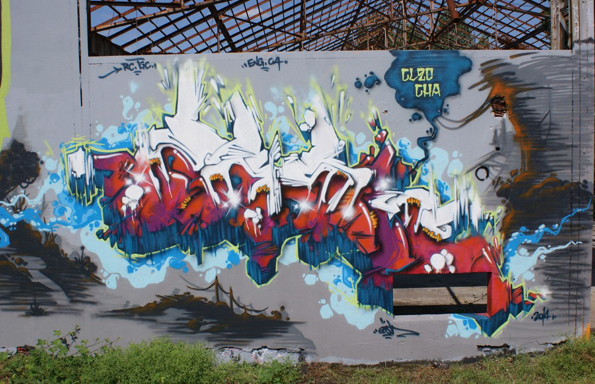 Album - Graffitis Caserne Niel Bordeaux Tom 006