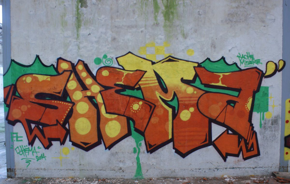 Album - Graffitis Dept 10 Tom 001