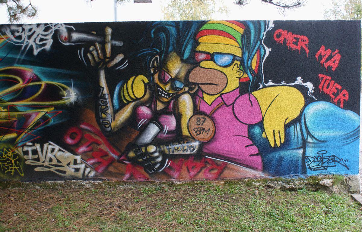 Album - Graffitis Dept 87 Tom 001