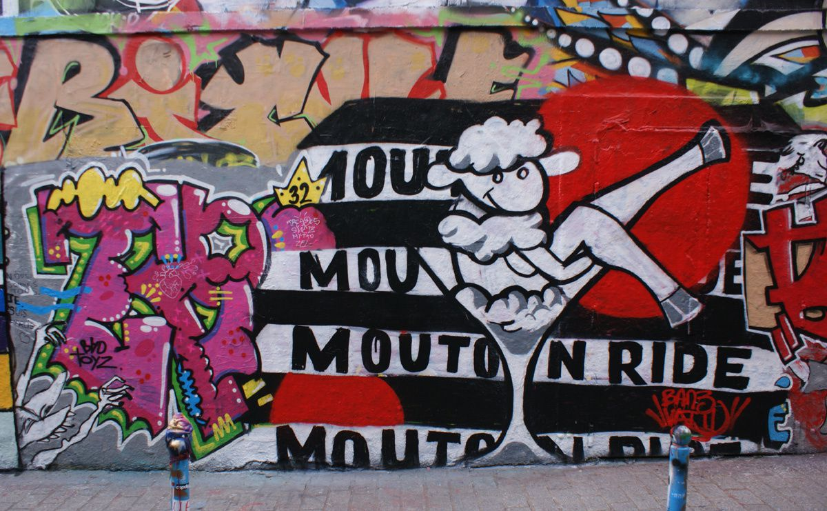Album - Graffitis Paris Tom 039